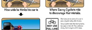 How to Pass a Bicyclist