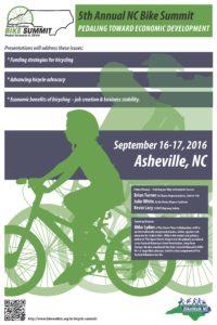 NC Annual  Bike Summit Almost Here!