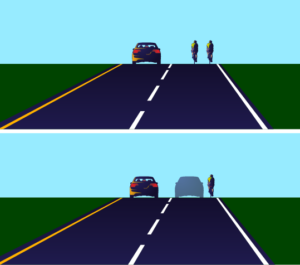 Why Cyclists Ride Two Abreast