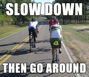 ADVOCACY SUCCESS – NEW LAW ALLOWS MOTORISTS TO CROSS SOLID CENTER LINE TO PASS BICYCLISTS