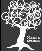 Oaks and Spokes logo