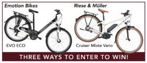 eBike Raffle Prizes